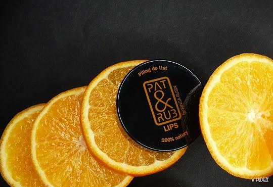 Pat&Rub Pomarańczowy peeling do ust