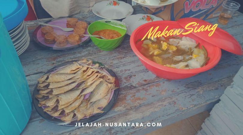paket makan siang pulau harapan