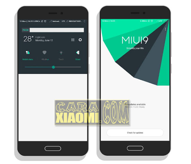 Download Tema For Xioami MIUI Fck For Today Material Terbaru
