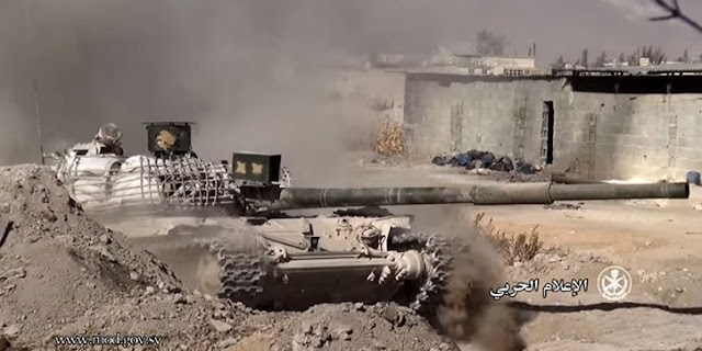 Sarab-2 σε συριακό Τ-72