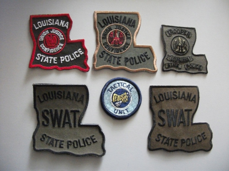 Louisiana Police Patches Collector: Misc  patches **** july