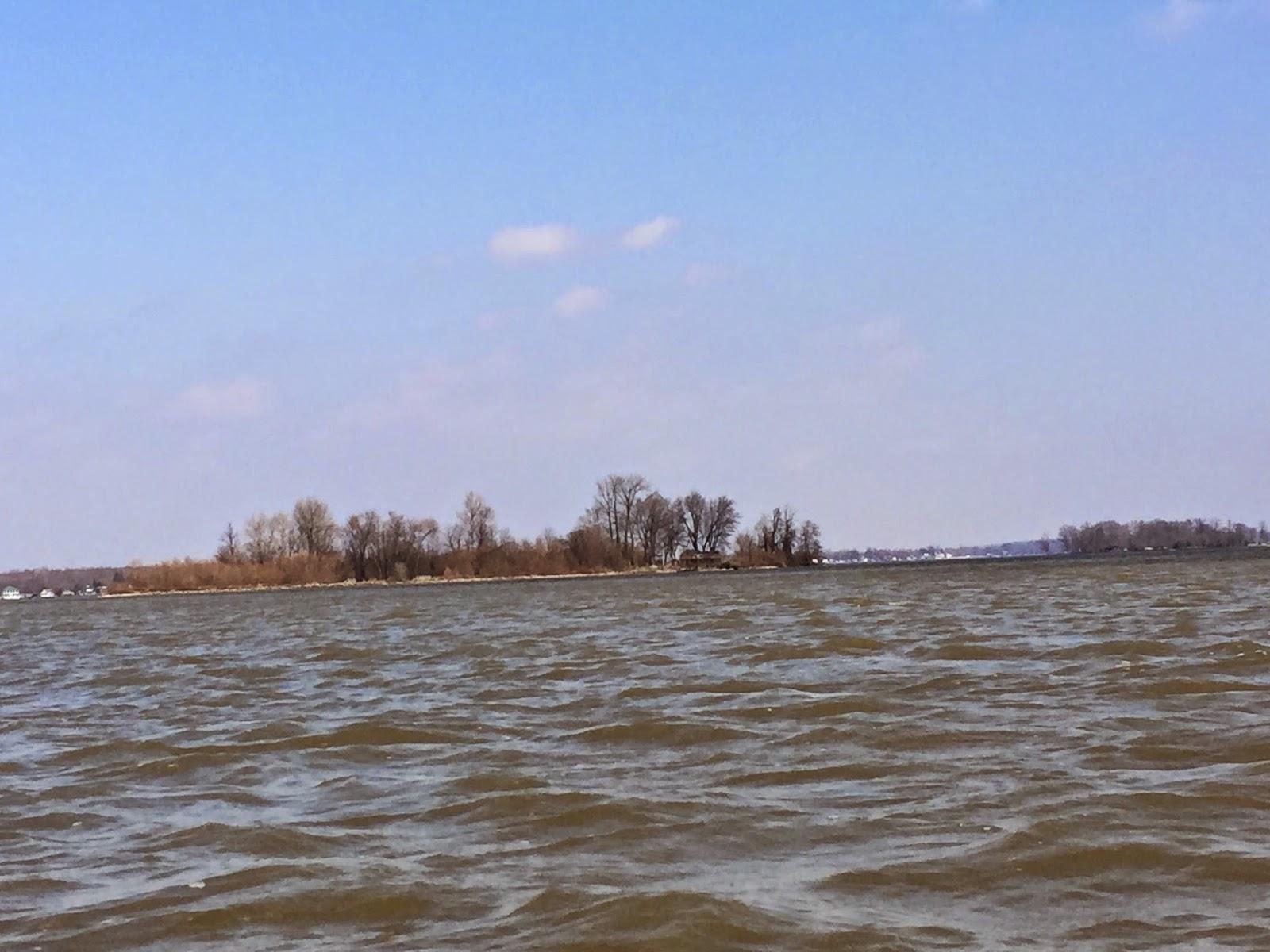 Kayaking Across Ohio Buckeye Lake Kayak It While It Is