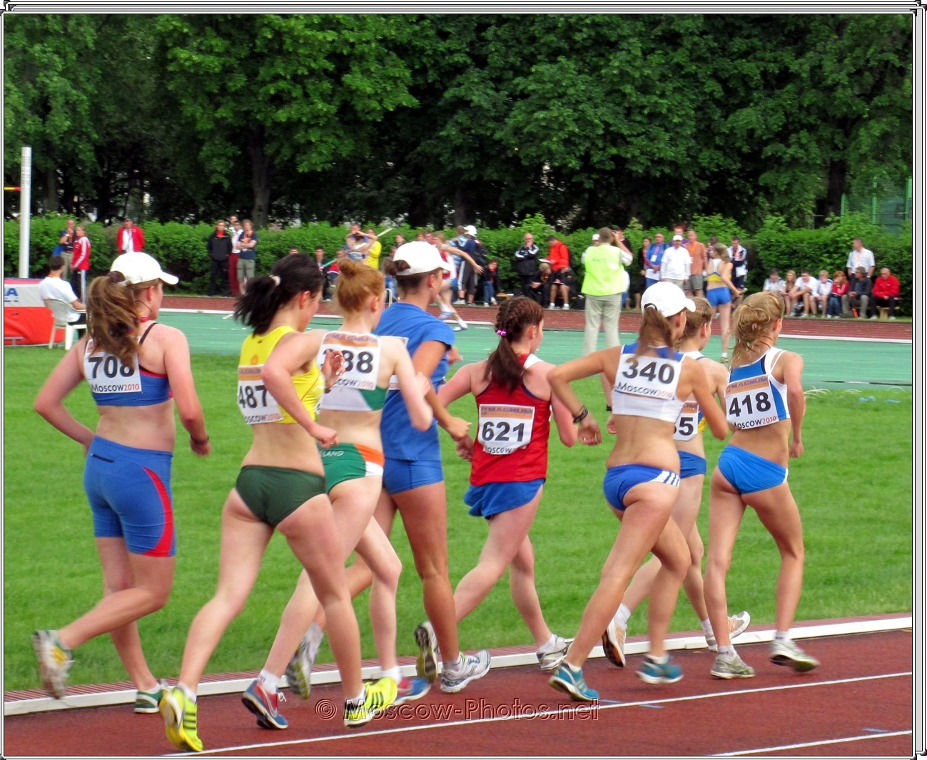 Sprint Long Distance at European Youth Olympic Trials 2010