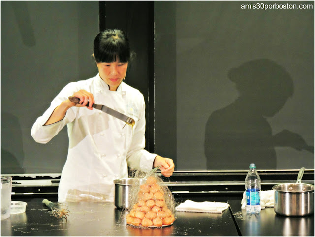 Joanne Chang en el Science and Cooking de la Universidad de Harvard