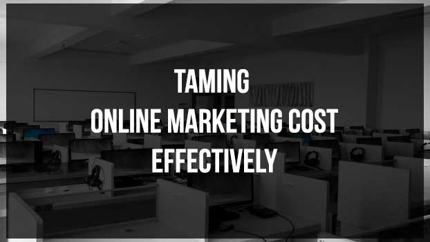 Taming Online Marketing Cost-Effectively : eAskme