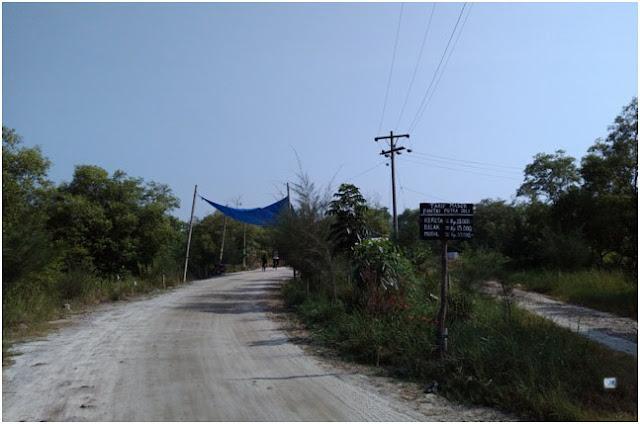 Perjalanan Gila Seorang Diri, Pantai Putra Deli Sumatera Timur