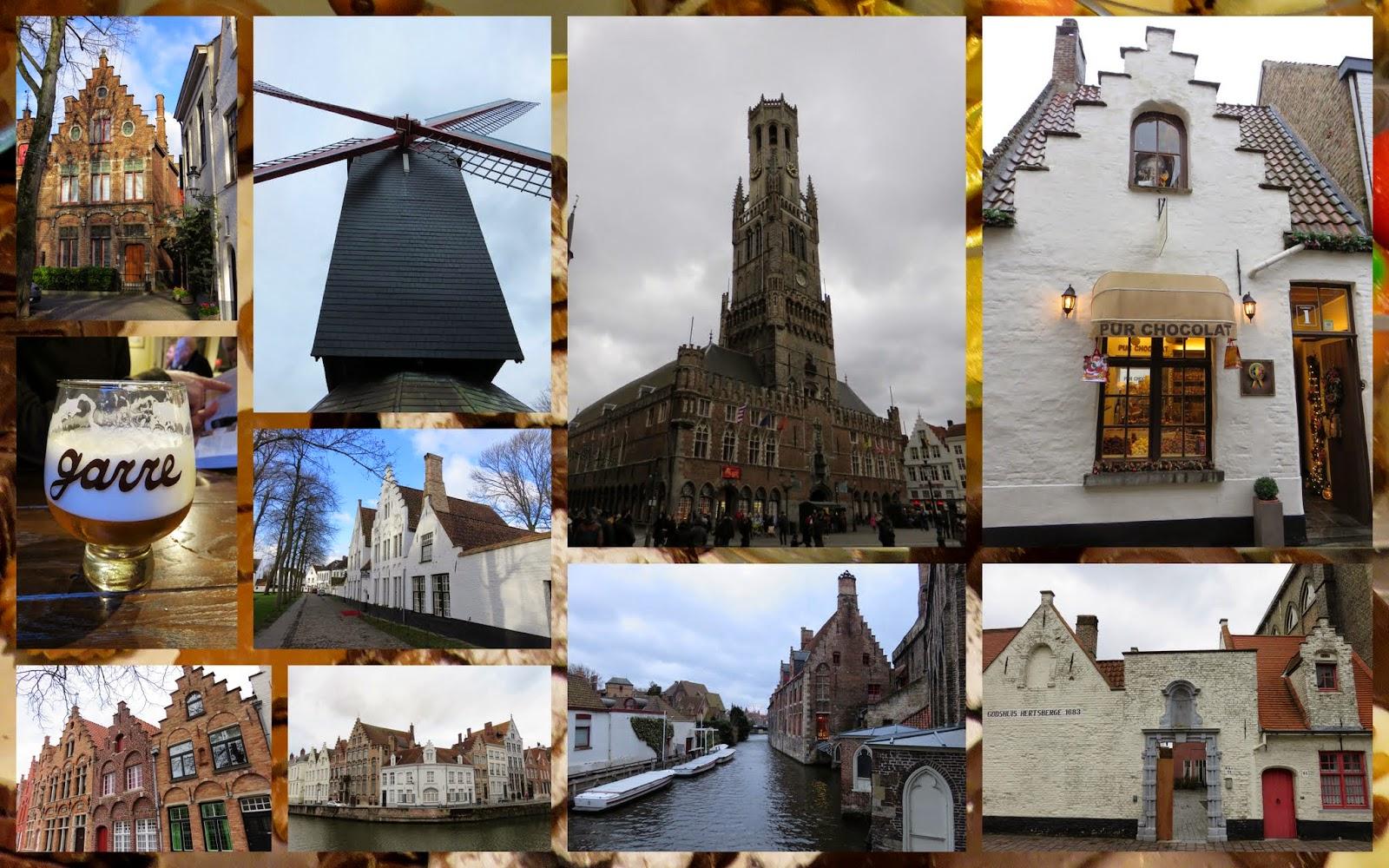 Ride the rails to Bruges, Belgium