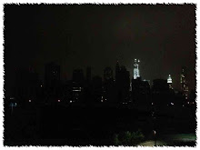 Lower Manhattan in Blackout