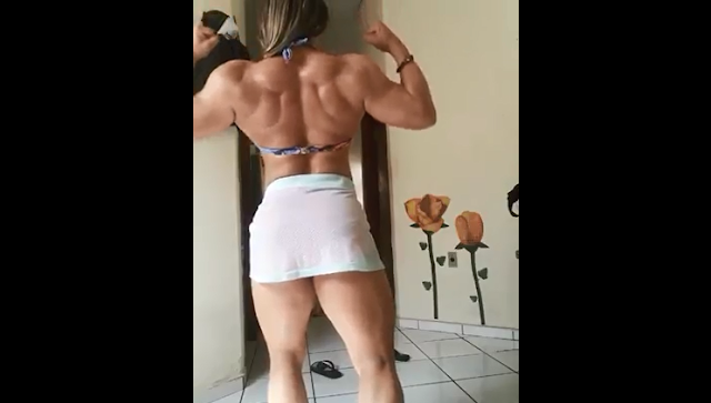 Clip Female bodybuilding workouts Beautiful Muscle Girl Video :