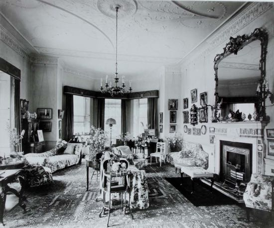 Image: Fig 7: The drawing room in 1933 (By courtesy of Lady Stourton)