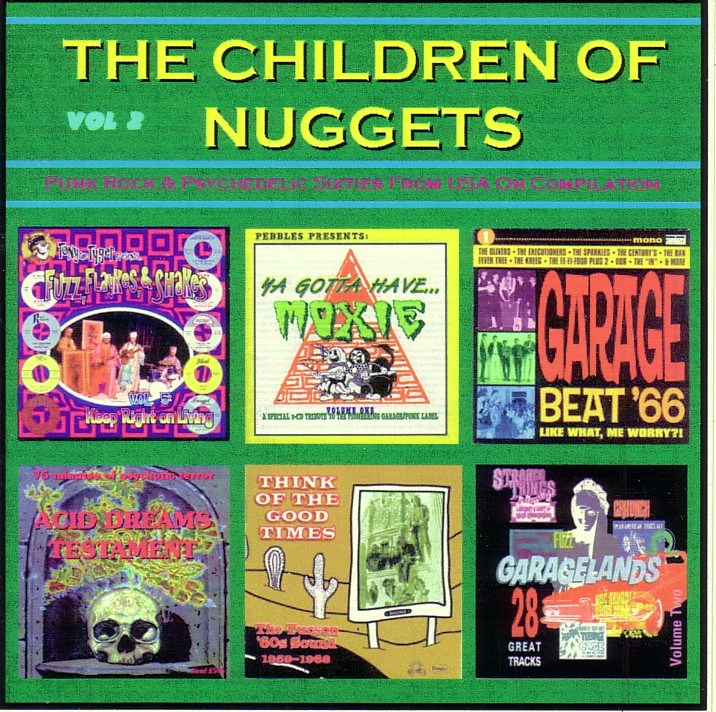 SIXTIES BEAT: The Chidren Of Nuggets Vol 2