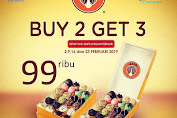 Promo Jco Donuts di Solo Great Sale Buy 2 Get 3 Hanya Rp 99.000