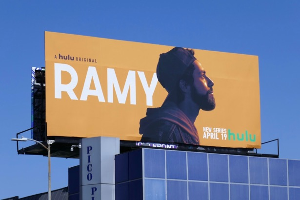 Ramy series premiere billboard