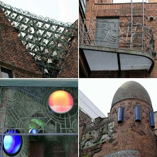 Art déco; Modernismo; Expresionismo alemán; Böttcherstrasse; Bremen; Brême; Alemania; Deutschland; Germany; Allemagne