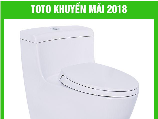 TOTO Việt Nam khuyến mãi 2018