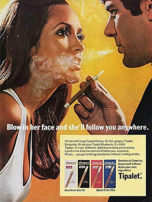 Propagandas Históricas Machistas - Cigarrilhas Tipalet