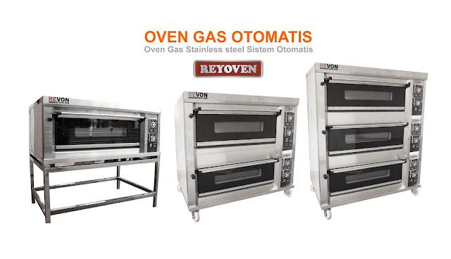 Harga Oven Deck Otomatis (Oven Gas Stainless Sistem Pengapian Otomatis)