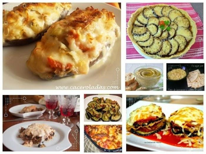 Recetas variadas para cocinar berenjenas
