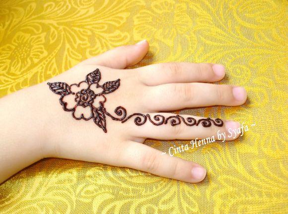 Henna Artist Penang  Cinta Henna by Syafa Henna Untuk