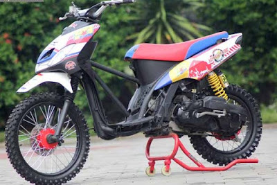 ide modifikasi mio grasstrack