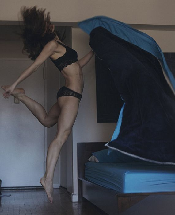 Photographers Recorded Real-Life Ballet At Home