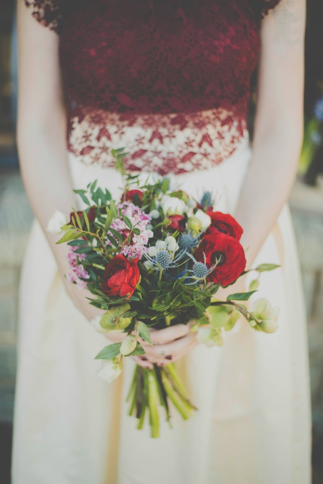ramo de novia inspiracion Blancanieves - Snow white - Blog Mi Boda