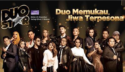 Senarai Lagu Konsert Duo Star 2016 Minggu Pertama