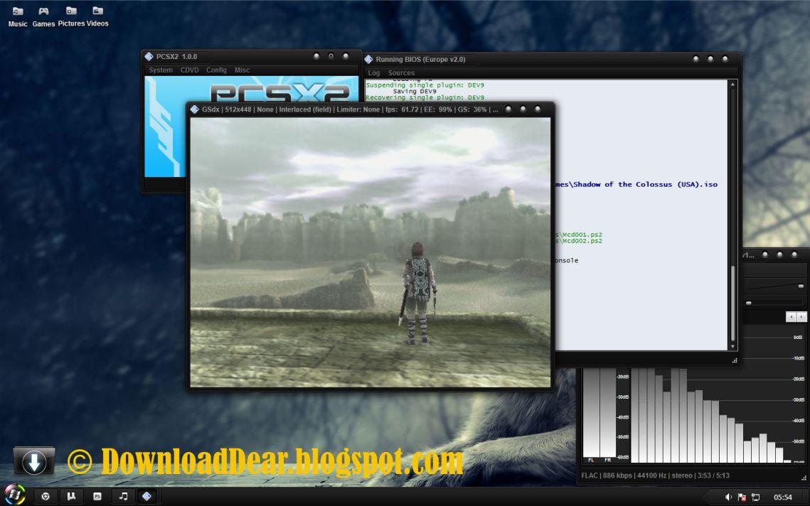 Pcsx2 1 1 0 Bios And plugins free download