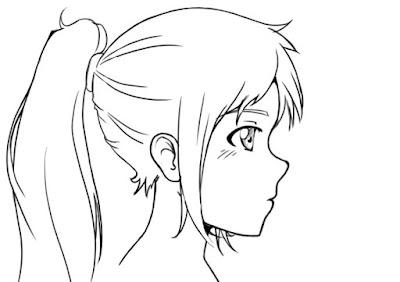 dessiner un visage de profil