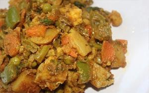 Mixed Veg Sabji – Tamil