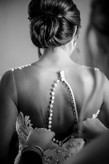 texas bride getting ready photo