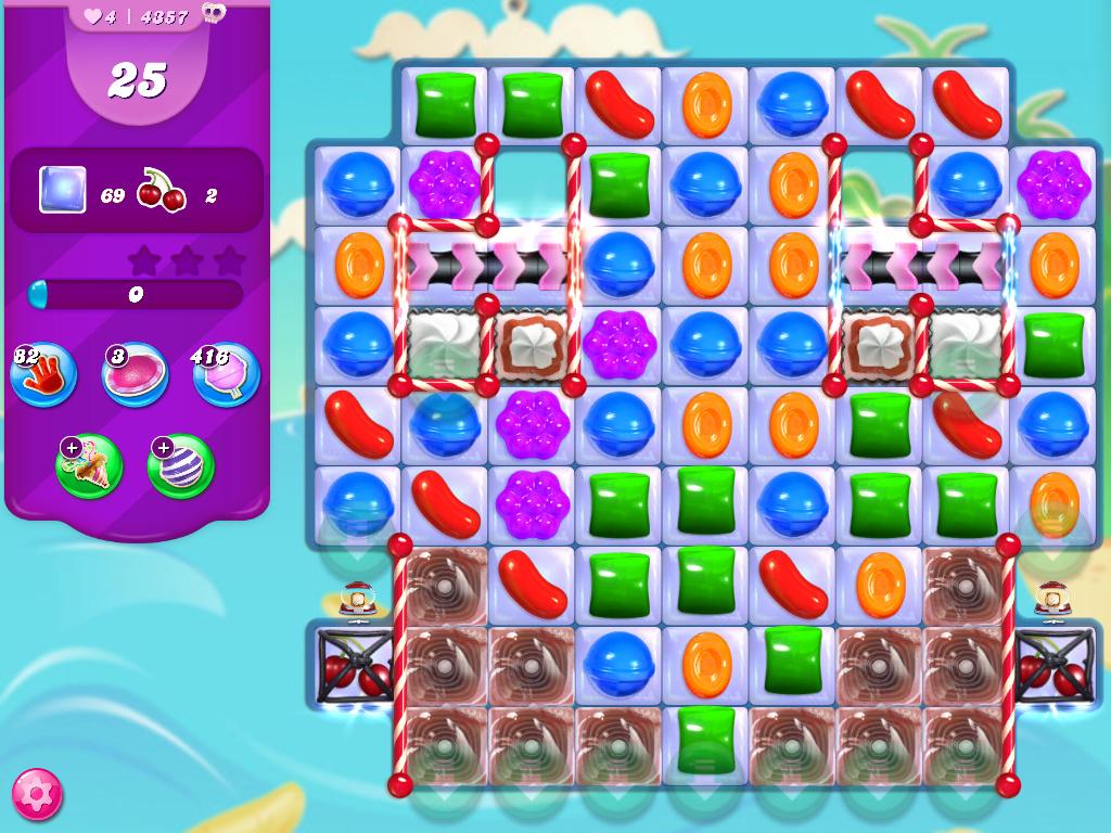 Candy Crush Saga level 4357