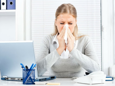 Pourquoi doit-on manquer le travail quand on a la grippe?