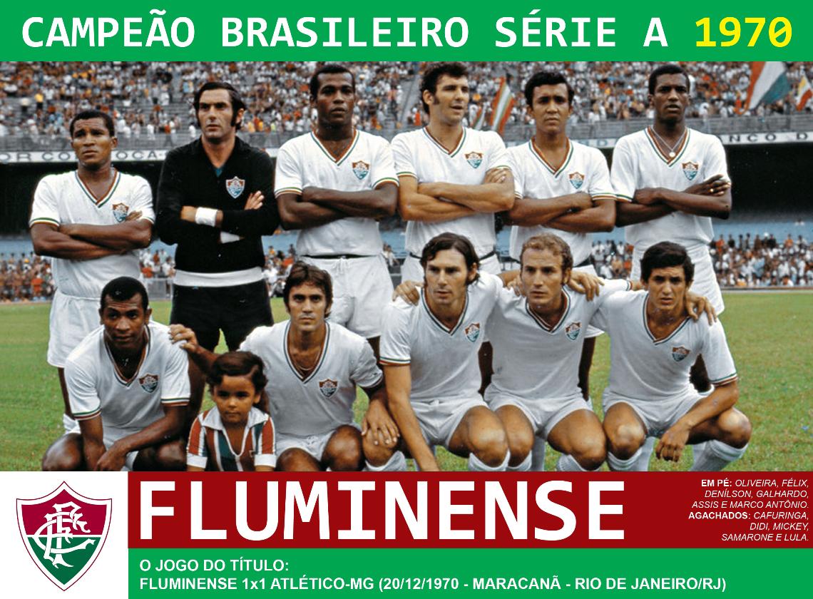 Edição dos Campeões  Fluminense Campeão Brasileiro 1970 f5ad1d0ee8605