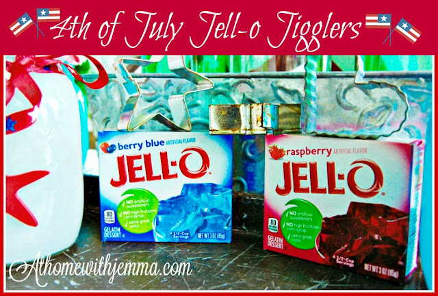 dessert, holiday, 4th of july, recipe, easy, jello, athomewithjemma.com