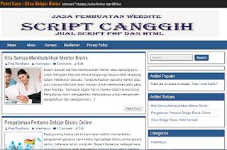Kisah Berubahnya Tema Situs PaketKaya.com