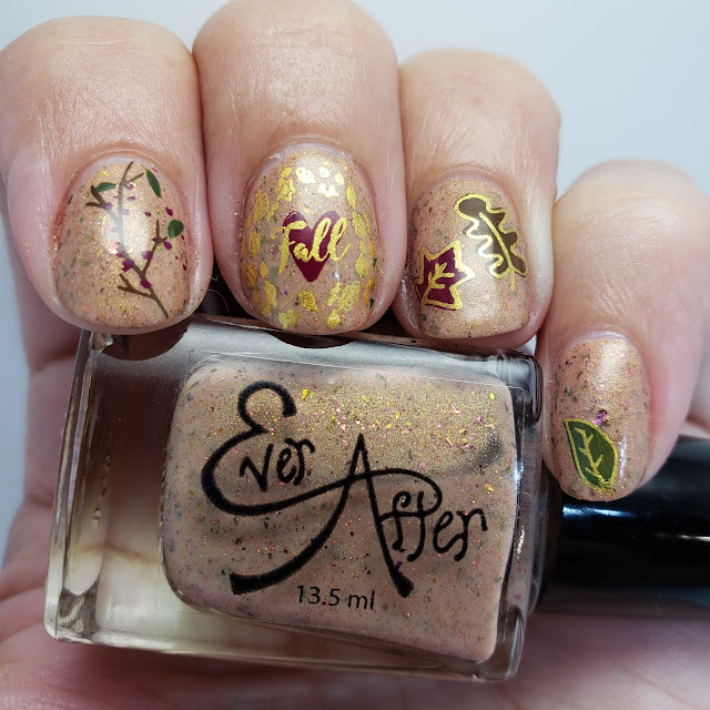 nail art, indie polish, stamping nail art, pretty nails