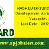 NABARD recruitment 2016-  Development Assistants 85 Vacancies