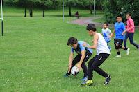 Rugby infantil en Gorostiza