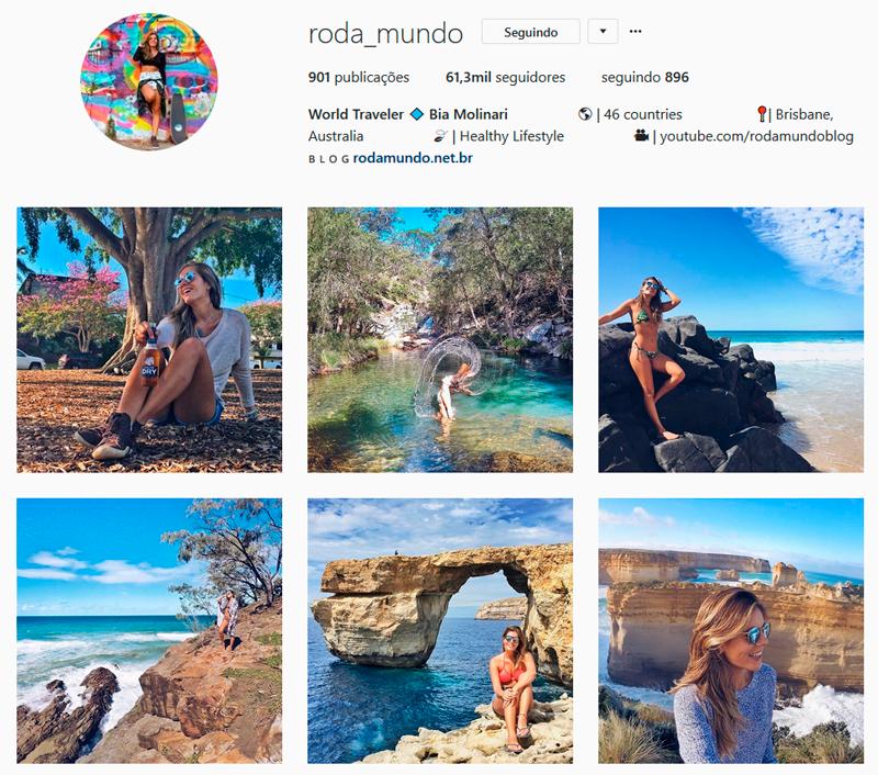 Top 10 Instagrammers Travel Bloggers para seguir roda_mundo Bia Molinari Indicações Dicas Instagram Pictures Photos Viajante Travelblogger Stephanie Vasques Viagens Não é Berlim blog naoeberlim