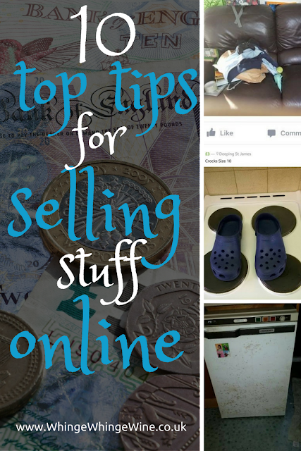 Ten top tips for selling stuff and making money online, with Facebay, ebay and local selling sites
