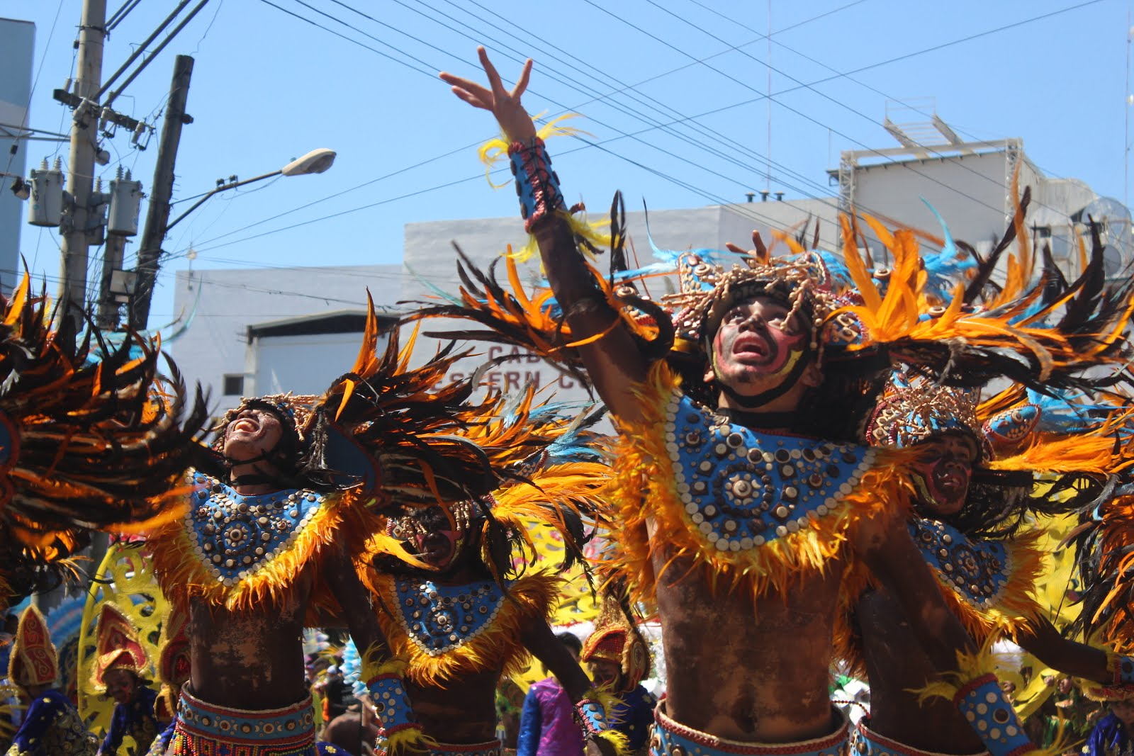 Dinagyang in Vivid Color, the festival's costume makers talk color, tradtion, and revelry.  Dinagyang, Iloilo, Heritage, Culture, Costumes, Headdress, Paghidaet, Tribu, Tourism,  Panay, Travel, Festival, Dingayang Festival, Kasadyahan, Ati, Dance, Warriors, Ilonggo,