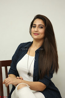 Manjusha in White Tight T Shirt and Black Jacket ~ Exclusive Celebrities Galleries 020