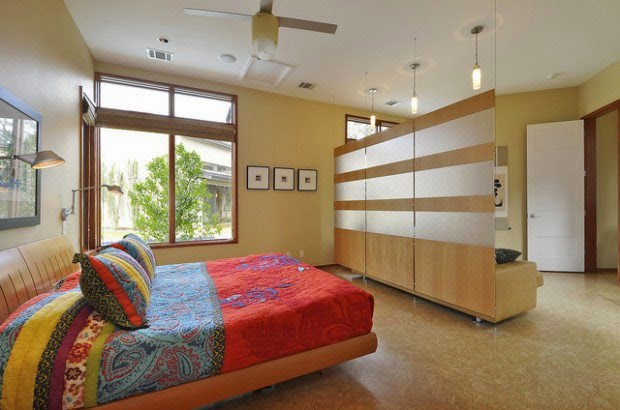 Creative ways to use room dividers to maximize space the - Ways to divide a room ...