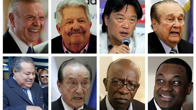Funcionarios de la FIFA detenidos en el día de ayer