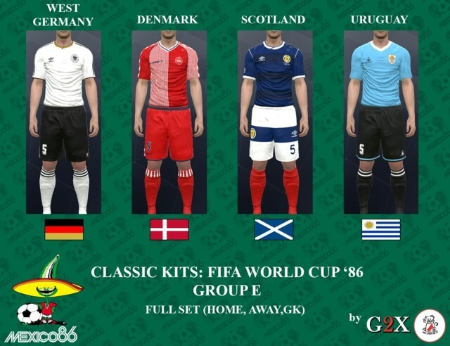 FIFA World Cup Kits PES 2017