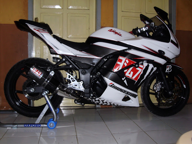 Modifikasi Motor Ninja 4 Tak Drag