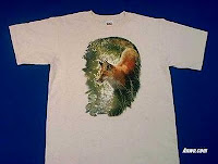 red fox t shirt