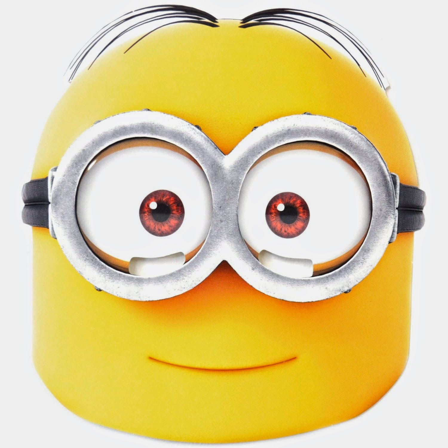 M scara de minions para imprimir gratis ideas y for Minion mask template