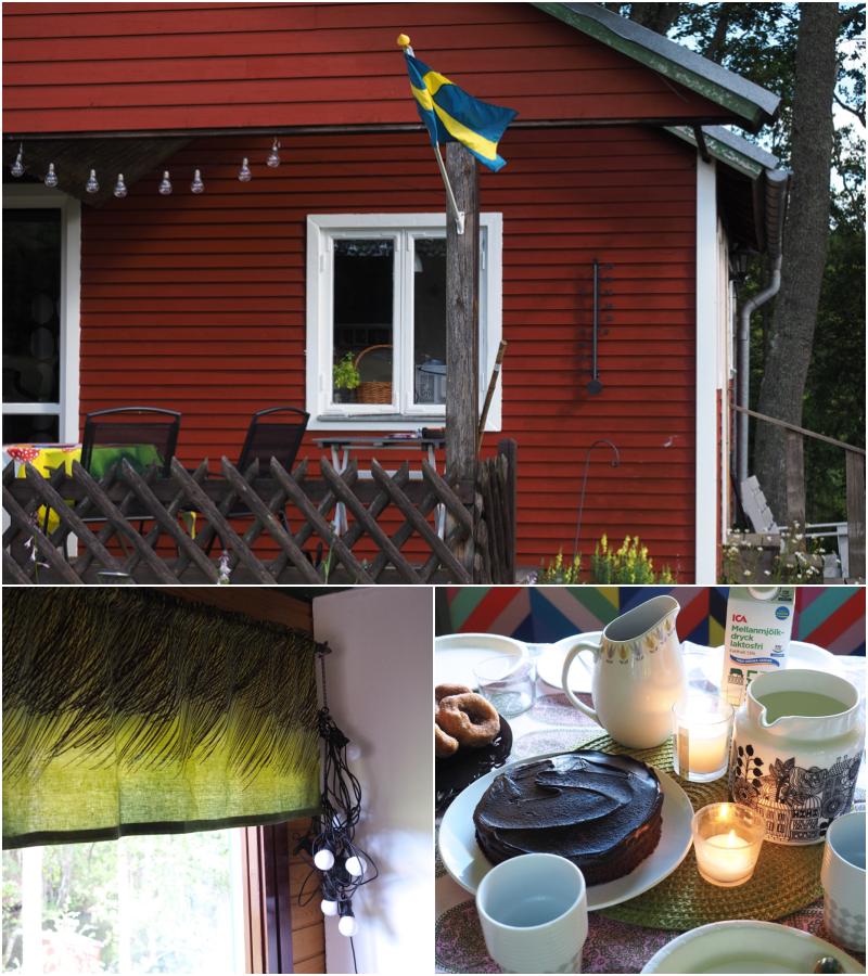 kaunis mökki ruotsissa